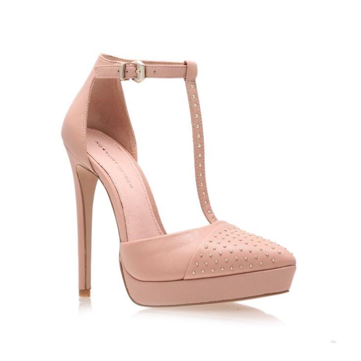 clemence, nude shoe by kg kurt geiger - women shoes