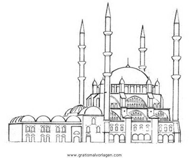 Раскраска мечеть грозного