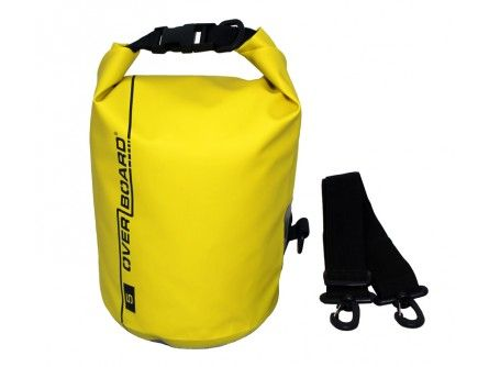 Overboard Dry Bag – Kayaking Bag – Yellow Dry Tube Bag – 5L | OverBoard Waterproof Bags, Dry Bags & Cases