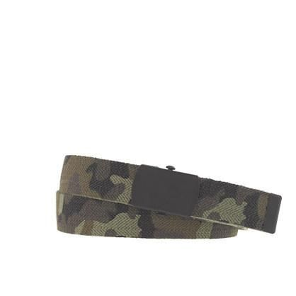 """What a cinch we updated our our much-loved elastic belt in a forever-cool camo design. (It's even printed with a purposefully faded star and an """"A.C.E"""" graphic for an authentic rugged... More Details"""