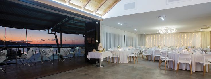 Lure, Abell Point Marina - contemporary wedding venue in Whitsundays, Queensland
