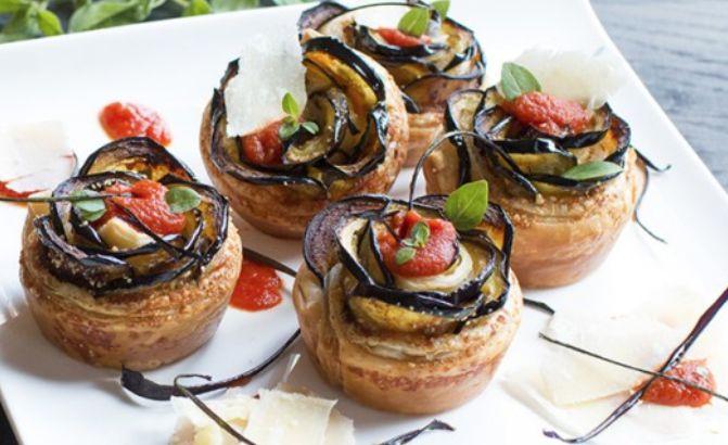 Da provare le rose di melanzane, una delle ricette per ottenere un piatto da gustare sempre