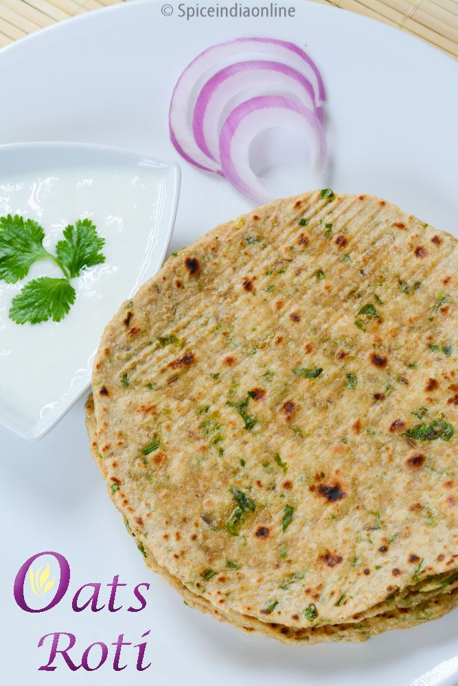 OATS CHAPATI RECIP E/ OATS ROTI RECIPE / HOW TO MAKE OATS CHAPATI? / OATS CHAPATI STEP BY STEP INSTRUCTION WITH PICTURES / INDIAN FLAT BREAD RECIPES / CHAPATI RECIPES / ...