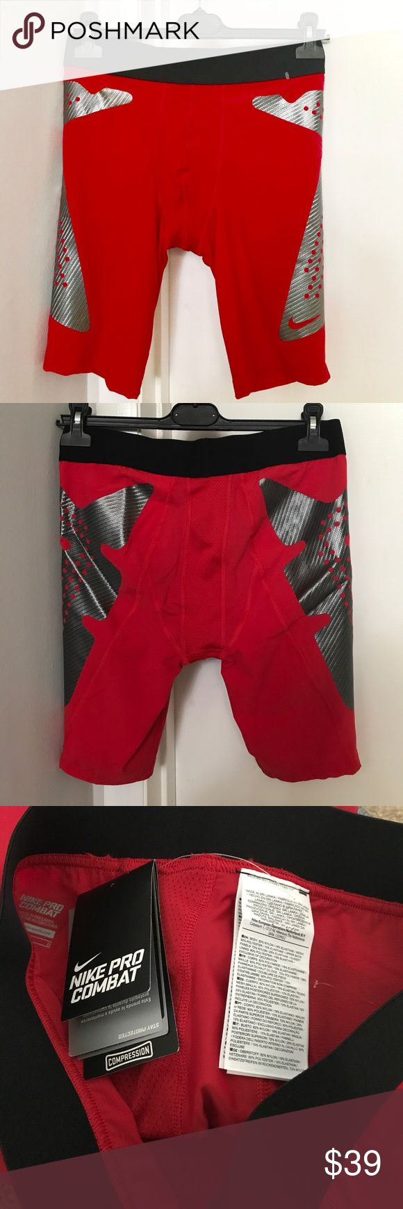 ✔️NWT Nike Pro Combat Compression Shorts Brand new with tags. Price: Fair and reasonable offer immediately accepted. Shipping: Ships within 24 hours. Nike Shorts Athletic