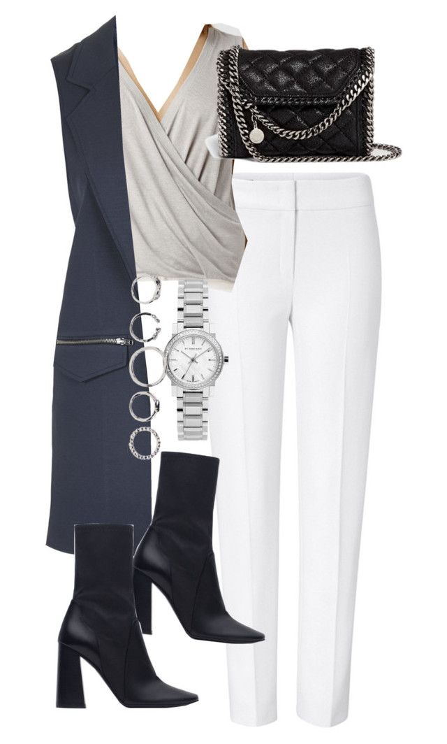 """""""Untitled #2767"""" by angieswardrobe ❤ liked on Polyvore featuring ESCADA, AllSaints, Topshop, STELLA McCARTNEY and Zara"""