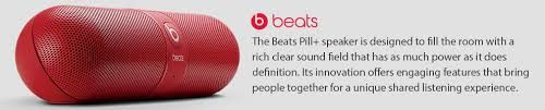 Beats Pill+ is designed to go wherever you do and fill the room with a rich clear sound field that has as much power as it does definition. With a sleek interface, the Beats Pill+ is intuitive to use and brings people together with engaging features for a unique shared listening experience.