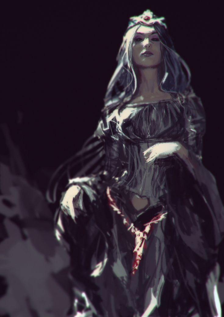 Amarantha [Lady Lafresia Fan art by AldgerRelpa.deviantart.com on @deviantART] #wizard #sorcerer