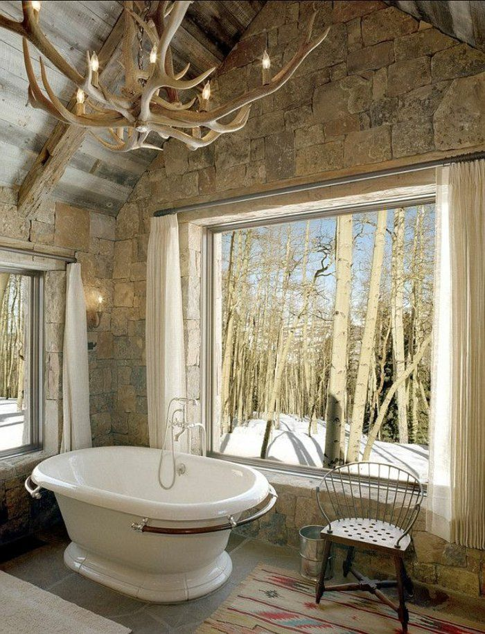 Les 25 meilleures id es de la cat gorie rideaux de fen tre for Rideau pour fenetre salle de bain
