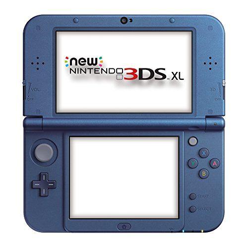 Nintendo Handheld Console 3ds Xl - New Nintendo 3ds Xl Metallic - Blue