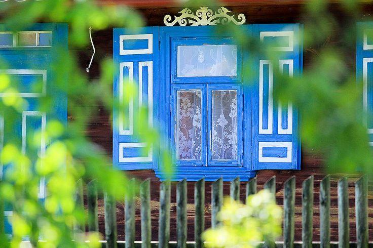 Podlasie, kraina otwartych okiennic / The Land of open shutters