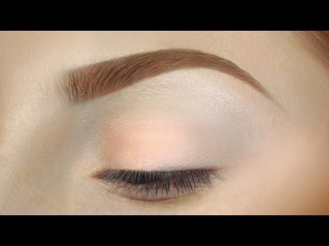 Updated eyebrow routine tutorial for redheads / pale, fair skin