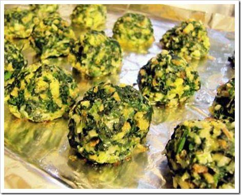 spinach balls | Recipes | Pinterest