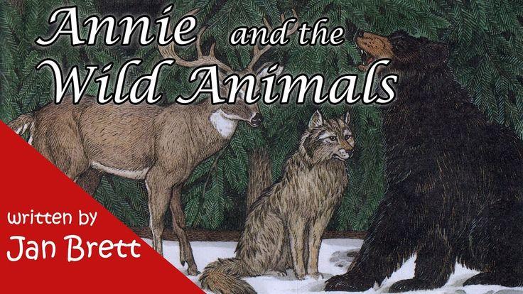 Annie and the Wild Animals by Jan Brett - Children's Book [Read Aloud] - YouTube