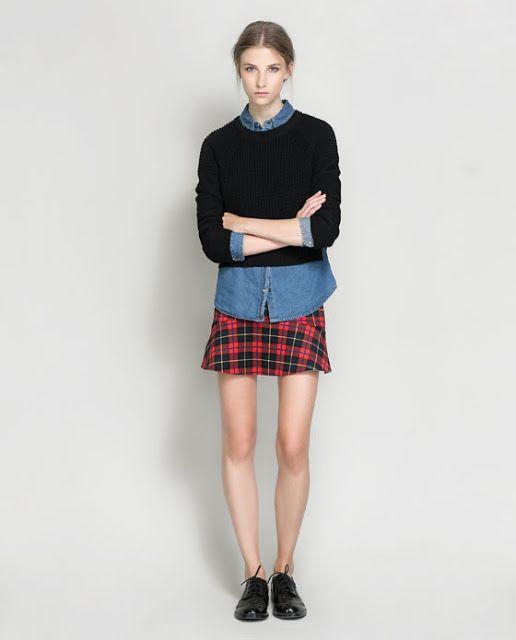 Tendencias: Faldas de cuadros escoceses
