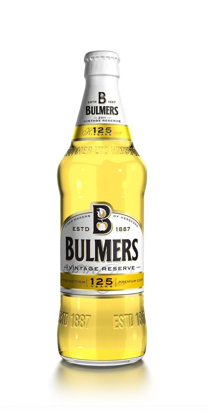 Bulmers vintage cider (design: PB Creative)