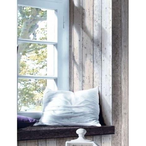 papier peint watford effet planches de bois d co bord de mer pinterest vinyles et. Black Bedroom Furniture Sets. Home Design Ideas