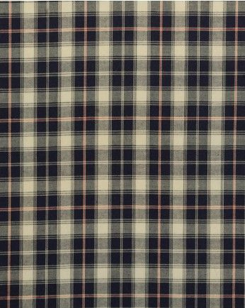 2m Cotton Fabric | Blue Tartan | Truro Fabrics