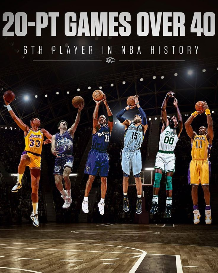 Vince Carter is just the 6th player in NBA history to record a 20-point game over the age of 40.