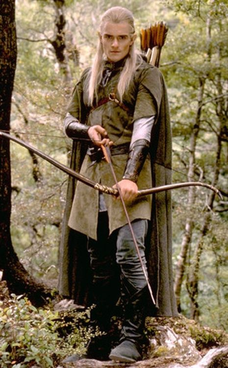 He is an archer just like me and in pirates of the Caribbean he is a sword fighter like me! We were meant to be together <3