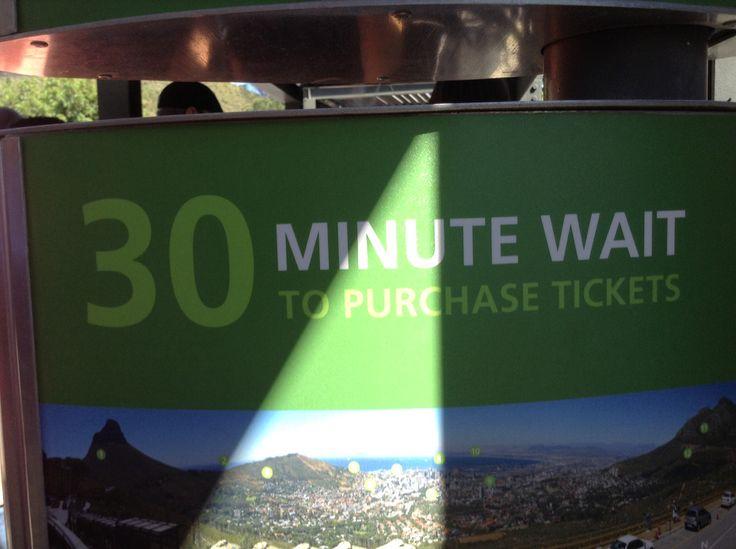 Det er bare til billetkøen