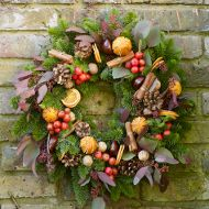 Lavender and Lovage | Giveaway: Win an Edible Christmas Wreath of your Choice worth £45 from Clifton Nurseries | http://www.lavenderandlovage.com