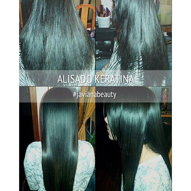 Alisado Keratina #javianabeauty #hair #hairstrength #hairstyle #hairinstagram #hairinspiration #cabellos #cabelloliso #cabellolargo #cabellohermoso.