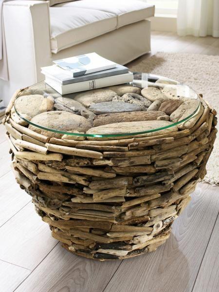 Les 265 meilleures images propos de cr ation pour bois flott sur pinterest - Meubles en bois flotte ...