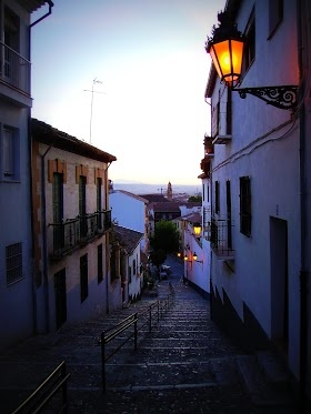 The Albaicin, Granada, where the Torres Ramirez family live