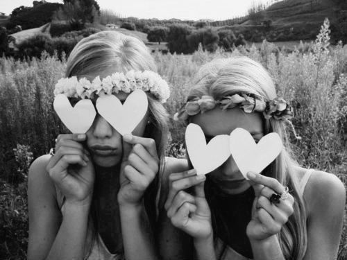 To have that one special friend in your life that you can be silly, bossy and serious with. Thats not a friend anymore, thats a sister.