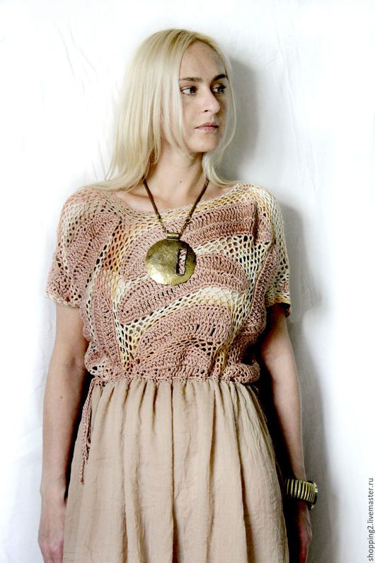 Платья ручной работы. Платье Костюм Б1. fashion. Ярмарка Мастеров. Бежевый цвет, большие размеры, одежда на заказ, кремовый