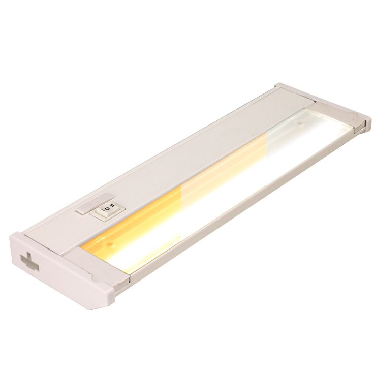 aqac 120v colorselect led under cabinet light bar in white - Under Cabinet Led Lighting