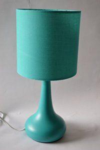 Lampe de chevet tactile bleu