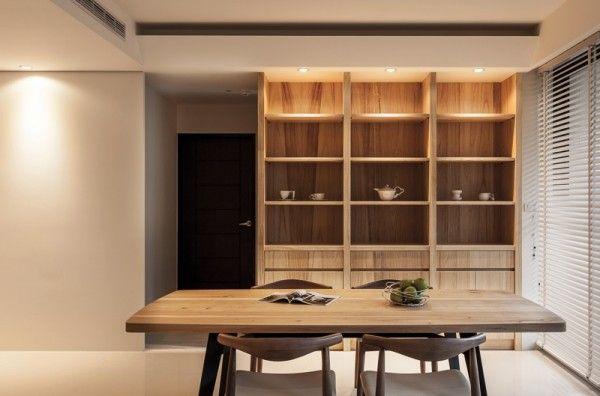 Natural Modern Decor Dining Room