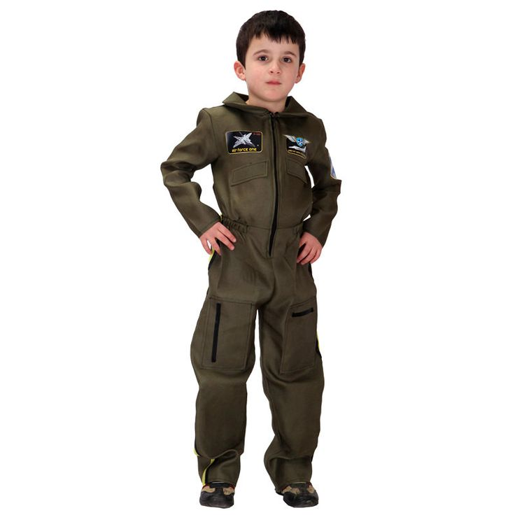 Children Halloween aviator Pilot Costume Boy Policemen Cosplay Kids Special forces uniform Role play Carnival Purim party dress