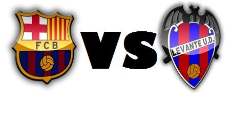 مشاهدة مباراة برشلونة وليفانتي الاحد 25/11/2012 بث مباشر