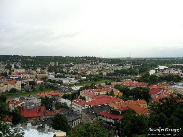 Panorama Przemyśla z Zamku Kazimierzowskiego