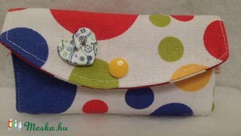 Meska - Pöttyös zsebkendőtartó solba66 kézművestől