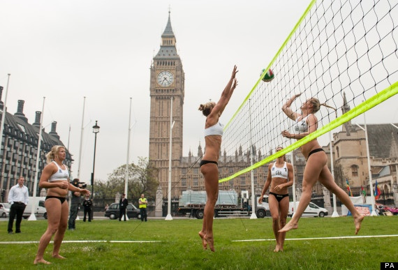 Women's Olympic volleyball anyone?
