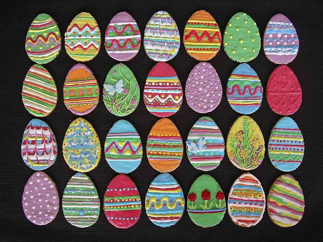 easter eggs cookies | Flickr - Photo Sharing!