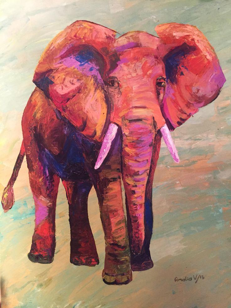 Pintura en acrílico por Amalia Vallejo