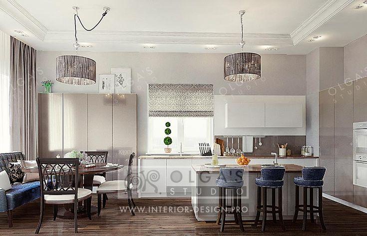 Art Deco Kitchen Design Idea http://interior-design.pro/en/blog/art-deco-kitchen-design-idea-and-picture.php