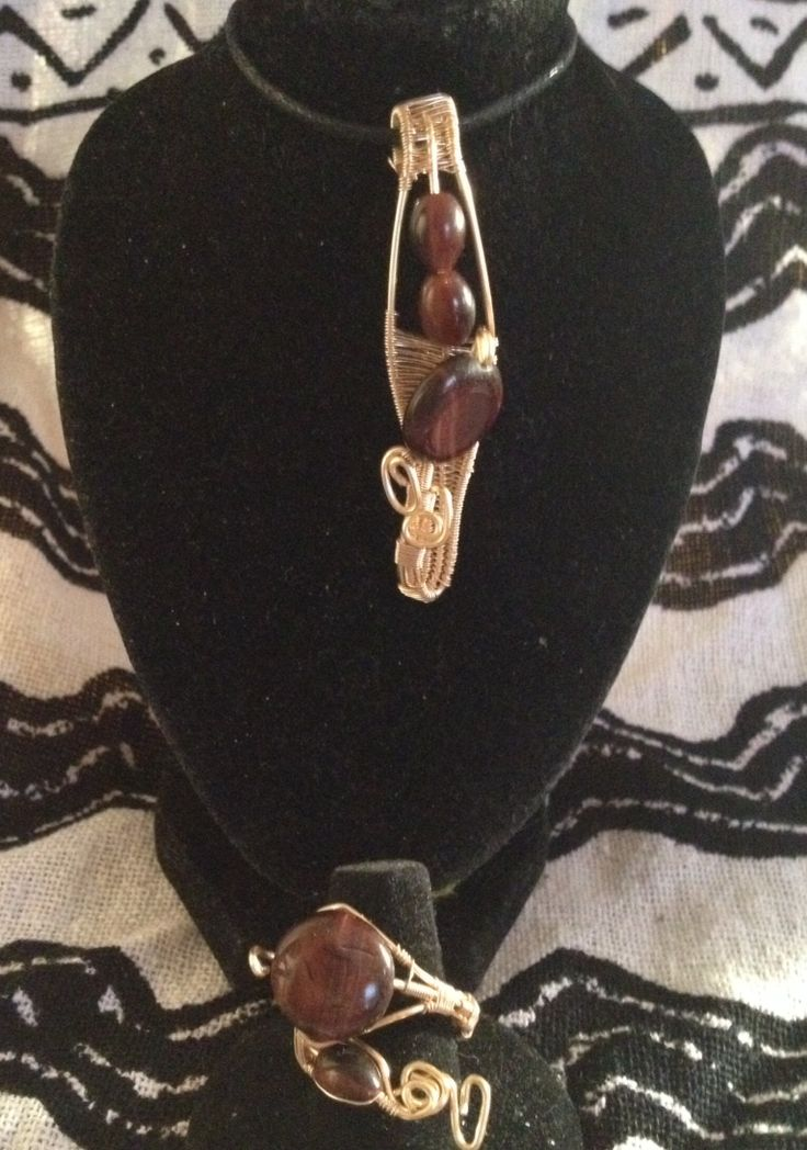 Flash Sale now-9:30pm  20% off entire store Use code MOMISLOVE45 Www.sacredinside.tictail.com  Red tiger eye pendent and adjustable ring set$55