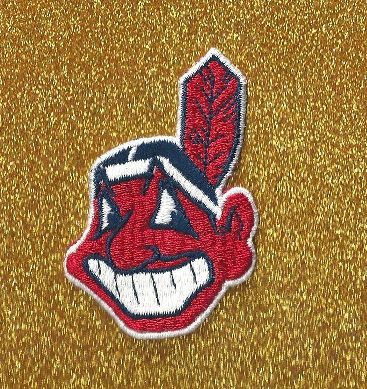 CLOTH+SEW+ON+PATCH+CLEVLAND+INDIANS+BASEBALL+PATCH
