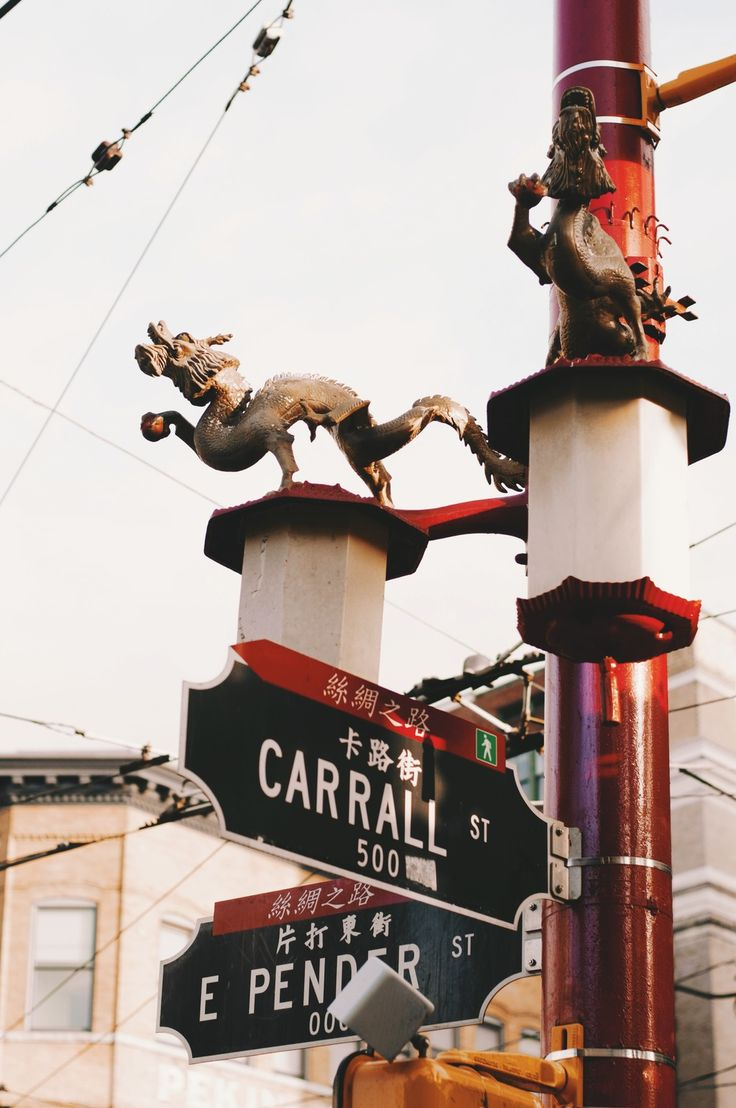 Street signs in Chinatown, Vancouver - thelocalvisitor.com #vancouver #travel #chinatown