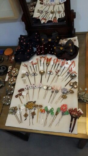 Lovely Korean traditional hair accessories