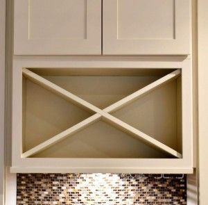 Center Island With Under Cabinet Wine Rack In Maple Traditional Style