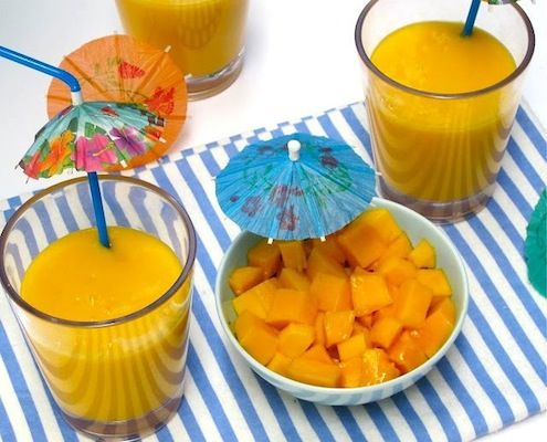 Mango Lassi - This popular and easy to make drink is a classic and a staple in Indian restaurant menus.