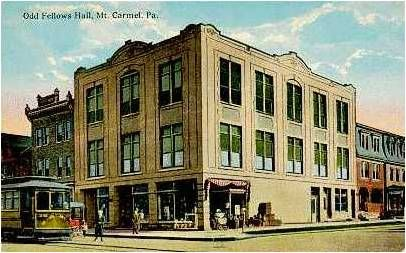 Odd Fellows Hall, Mt. Carmel, PA
