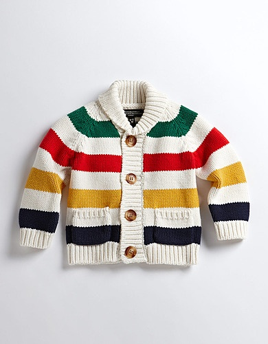 Hudson Bay Unisex Baby Sweater -- saw this at the Bay yesterday and had to pinterest search it and add it to my baby board. Love this sweater!!