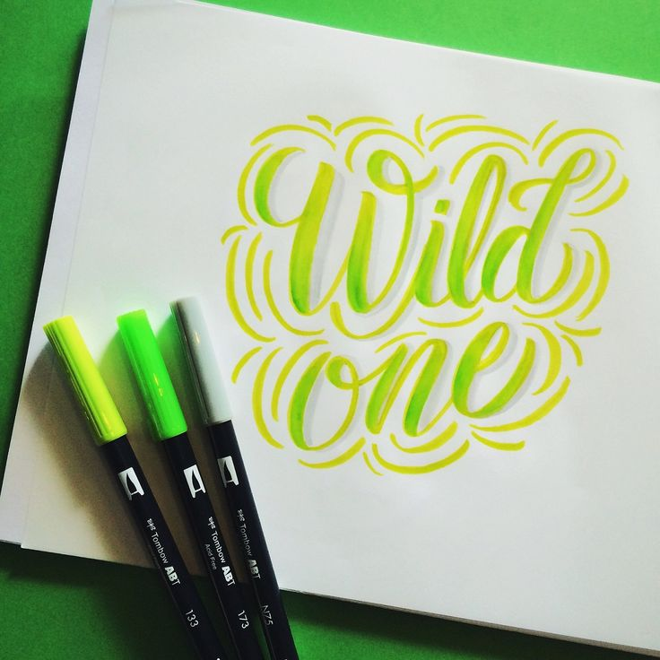Bye Lettering Week! Closing With Guest Designer Maia Then